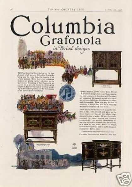 Columbia Grafonola Color (1918)
