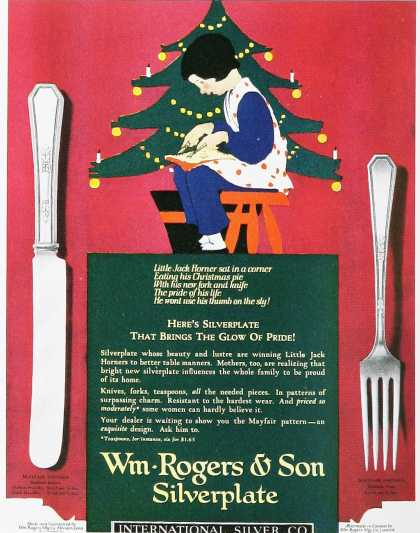 Wm-Rogers & Son Silverplate