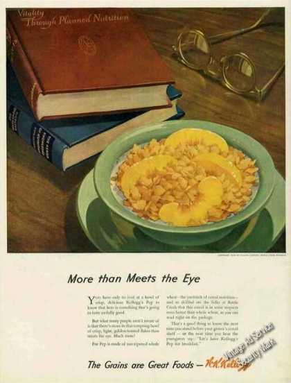 "Kellogg's Pep ""The Grains Are Great Foods"" (1944)"