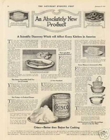 Crisco Shortening (1912)