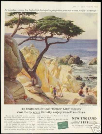 Monterey California Covell Art New England Ins (1959)