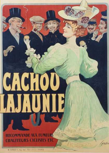 Cachou Lajaunie &#8211; Francisco Tamagno &#8211; Francia (1900)