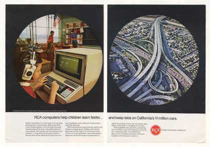 RCA Computer School Children California DMV 2-P (1967)