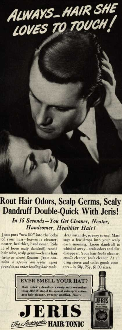 Jeri's hair tonic – Always_Hair She Loves To Touch (1947)