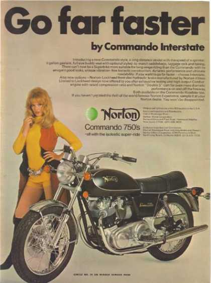Norton Commando 750 Interstate – 1972 (1972)