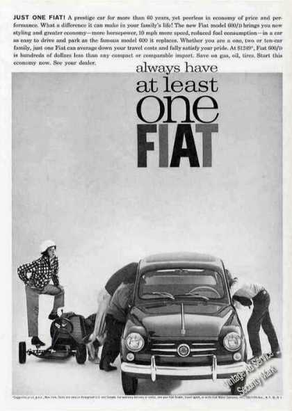 Fiat 600/d Always Have a Least One-car (1963)