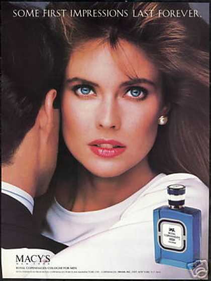 Carol Alt photo Royal Copenhagen Cologne (1987)