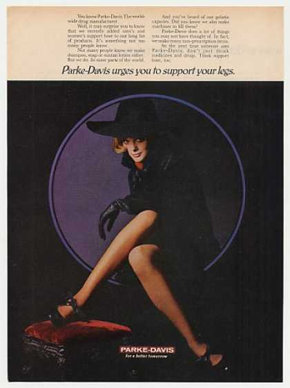Parke-Davis Support Hose Stockings Sexy Lady (1969)