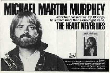 Michael Martin Murphey Photo Album (1984)