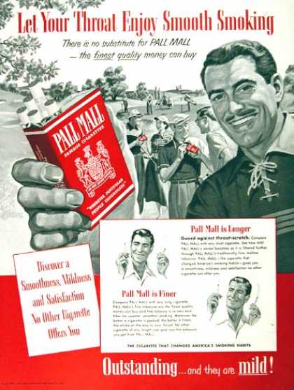 Pall Mall Cigarettes (1953)