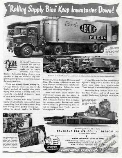 Fruehauf Trailer Photos Collectible (1947)