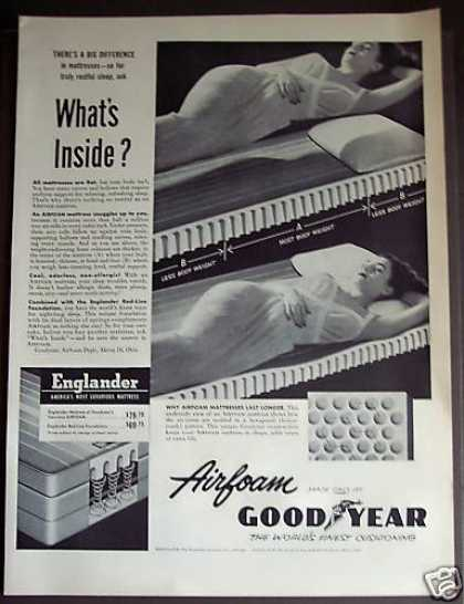 Goodyear Airfoam Mattress (1953)