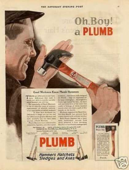 Plumb Hammer Color (1921)