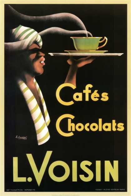 L. Voisin Cafes and Chocolats (1935)