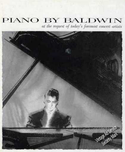 Piano By Baldwin Nice Drawing (1960)