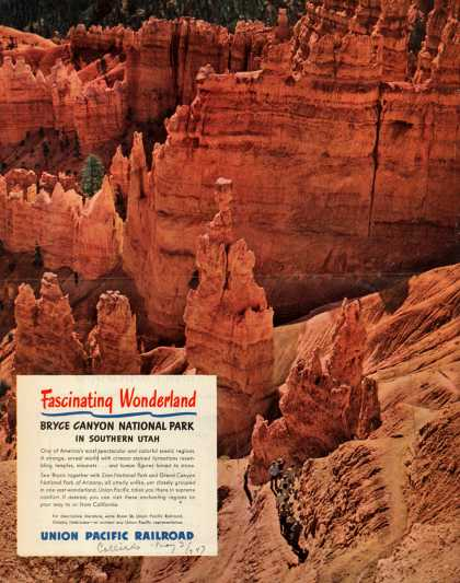 Union Pacific Railroad's Bryce Canyon National Park – Fascinating Wonderland (1947)