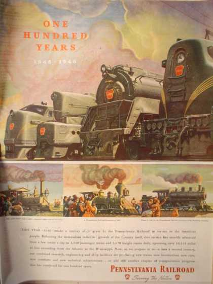 Pennsylvania Railroad 100 years (1946)