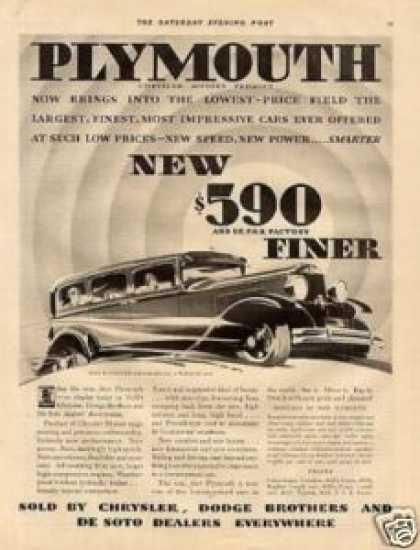 Plymouth 4-door Sedan (1930)