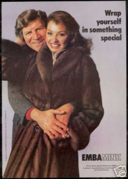 Emba Mink Fur Christie Bros Robert Preston (1979)
