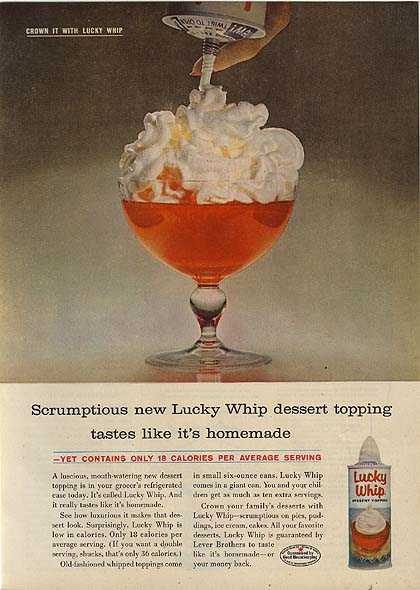 Lucky Whip's Dessert Topping (1959)