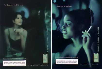 Benson & Hedges Ads – Menthol Moment Set of 2 (1999)