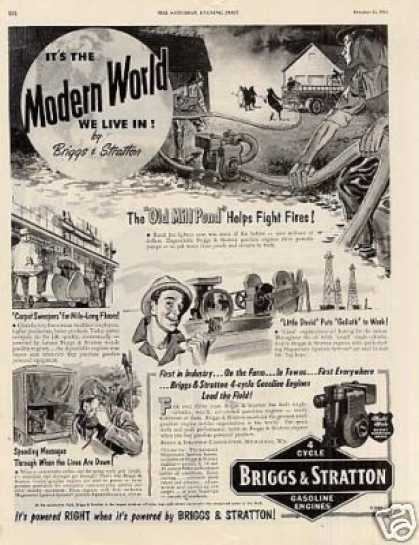 Briggs & Stratton Gasoline Engines (1953)