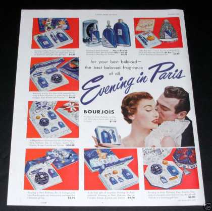 Evening In Paris Xmas Gift Sets (1949)