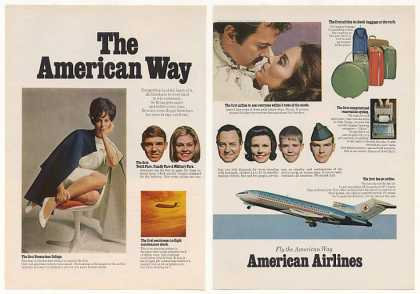 American Airlines First Stewardess College 2-Pg (1968)
