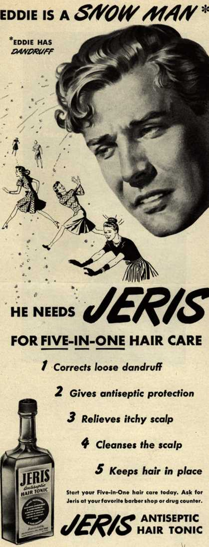 Jeri's hair tonic – Eddie Is A Snow Man (1946)