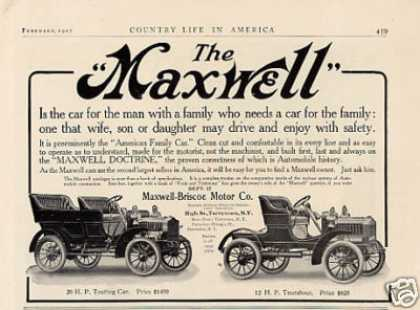 Maxwell Cars (1907)