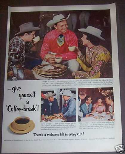 Cowboy Coffee Break Jim Eskew Jr. (1953)
