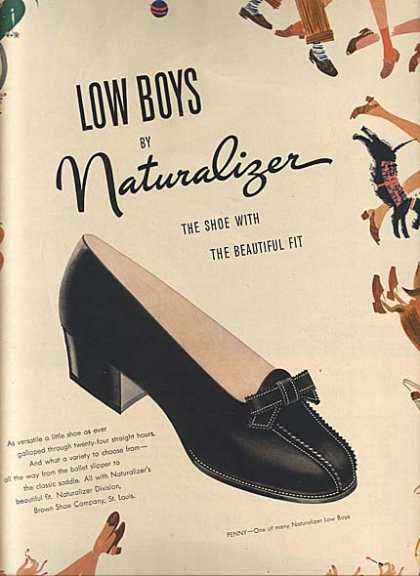 Naturalizer's Low Boy (1946)