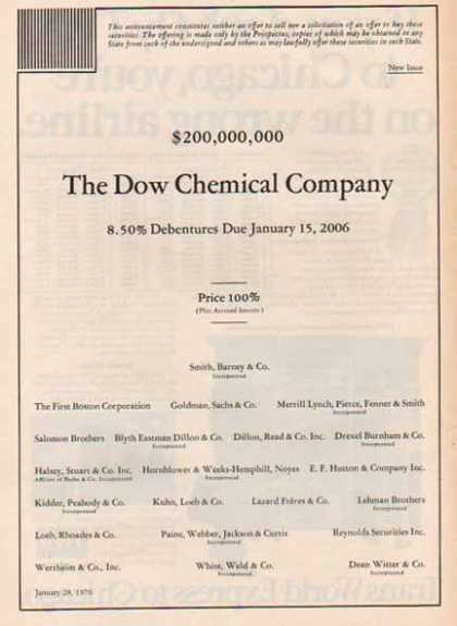 Dow Chemical Company (1976)