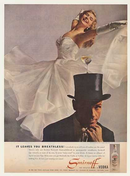 Rod Alexander Bambi Lynn Smirnoff Vodka Photo (1959)