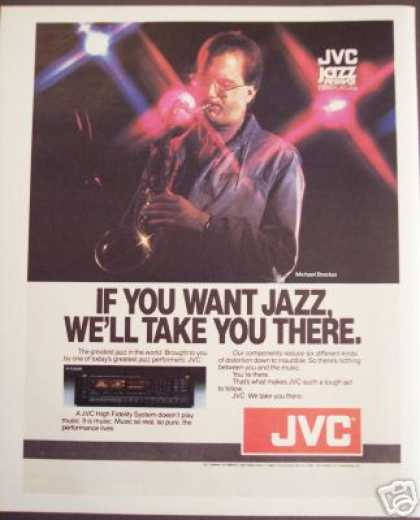 Jvc Jazz Michael Brecker Hi Fi Audio (1984)