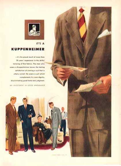 Kuppenheimer Fashion – Sold (1948)
