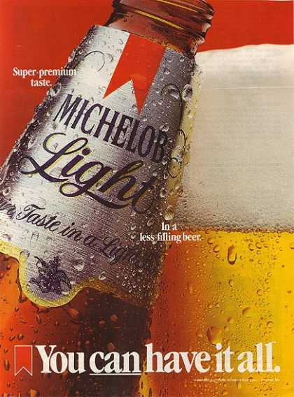 Michelob's Light Beer (1985)