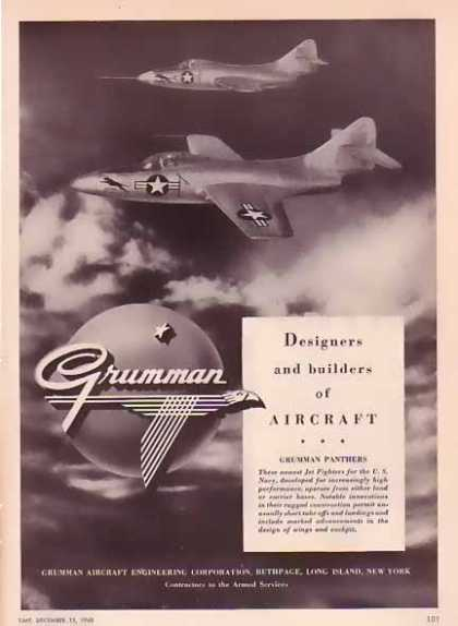 Grumman Aircraft – Two Panthers (1948)