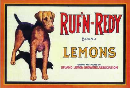 Ruf n' Redy Lemon Label – Upland, CA