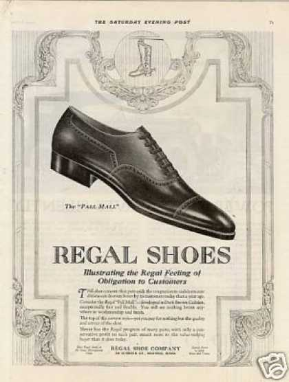 "Regal ""Pall Mall"" Shoe (1920)"