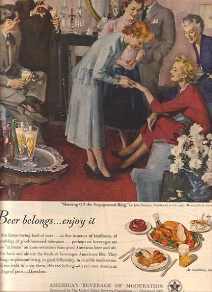 America's Beverage of Moderation (1950)