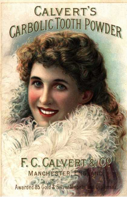 Calvert Toothpaste, UK (1890)
