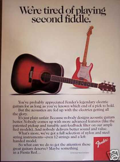 Fender Acoustic Guitars (1986)