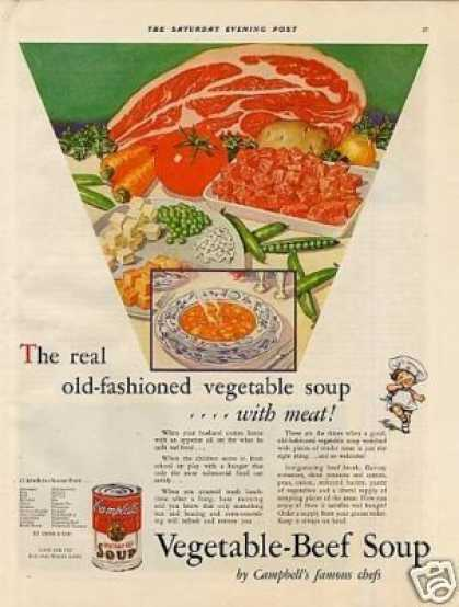 Campbell's Vegetable-beef Soup (1932)