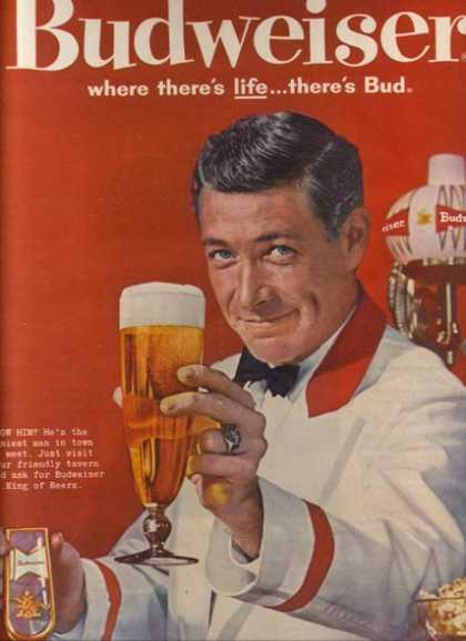 """Know Him? He's the easiest man in town to meet. Just visit your friendly tavern (1961)"