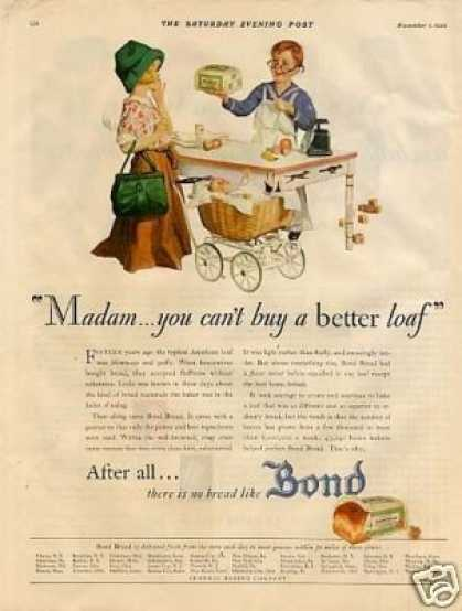 Bond Bread Color (1930)