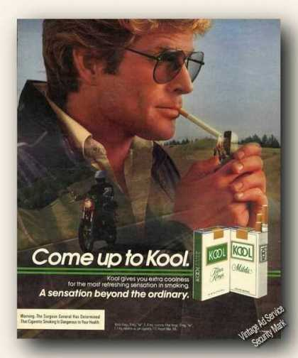 Kool Cigarettes Motorcycle Theme (1984)