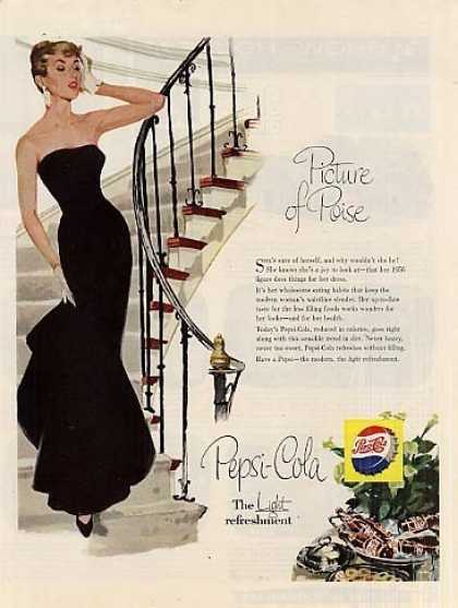 "Pepsi-cola Ad ""Picture of Poise... (1956)"