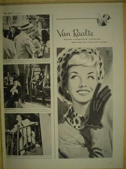 Van Raalte Gloves. Because you love nice things (1946)