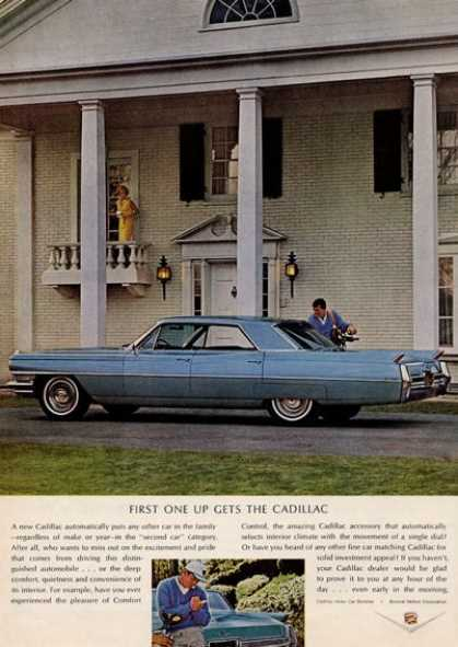 Cadillac Beautiful Big Blue Caddy (1964)